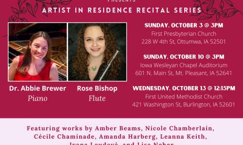 Southeast Iowa Symphony Orchestra to perform in Mt. Pleasant Oct.…