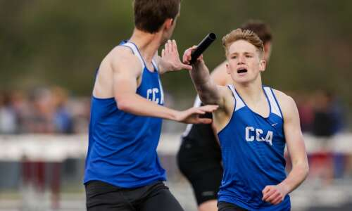 Recapping the conference boys' track and field meets
