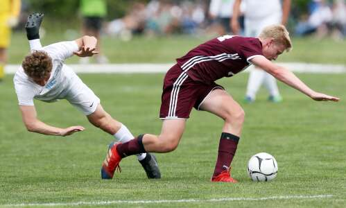 Photos: North Fayette Valley vs. Western Christian state soccer