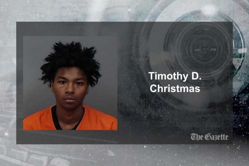 Complaint: Dubuque teen allegedly shot at occupied car in Cedar Rapids at least 7 times