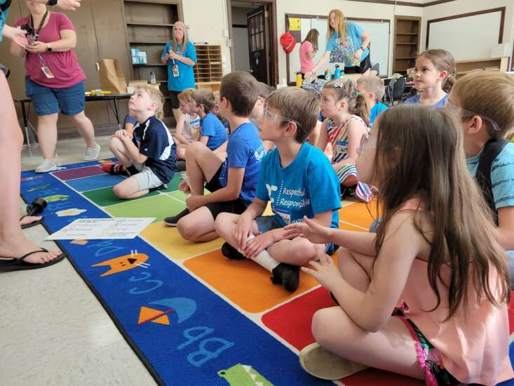 Elementary students 'recharge' at Camp Invention