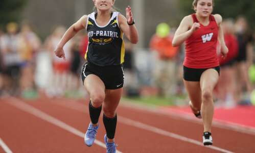 A closer look at Thursday's area conference track meets