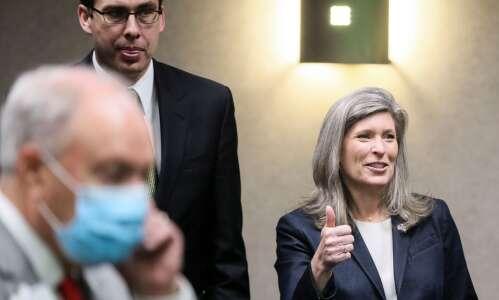 Joni Ernst says 'zero' chance she will run for president…