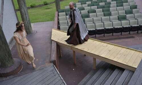 Free Shakespeare returning to Iowa City park