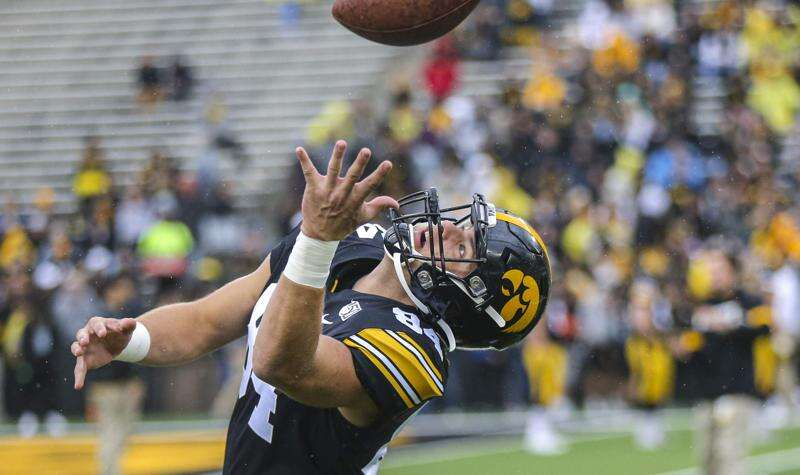 Iowa talks 'next men up' mentality at tight end, defensive line