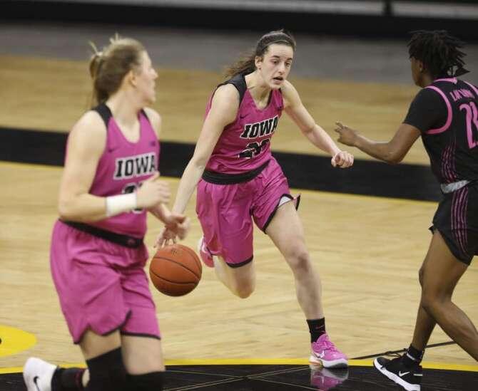 Photos: Iowa Hawkeyes women's basketball vs. Penn State