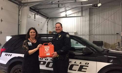 Iowa awarded $10.1 million grant to put defibrillators in all…