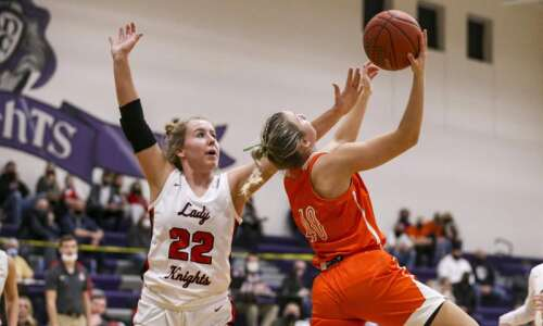 Assumption denies Solon, 49-36, in 3A girls' basketball regional final