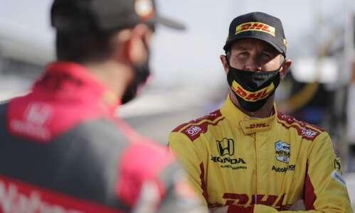 Ryan Hunter-Reay enjoys racing at Iowa Speedway
