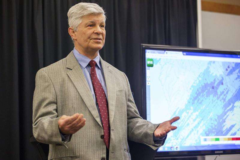 University of Iowa Flood Center director equated America with 'the moon'
