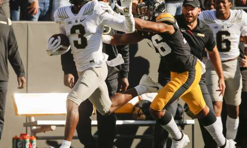 Purdue has, and takes, No. 2 Iowa's number in upset