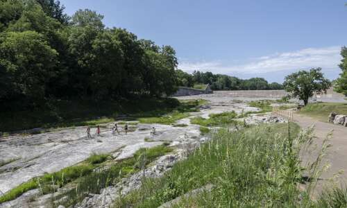 Coralville Lake's Fossil Gorge a trip back in time