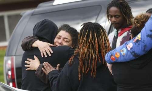 Her sister was shot and killed last week in Cedar…