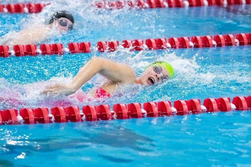 MACR Sharks dominate state, regional YMCA swim meets