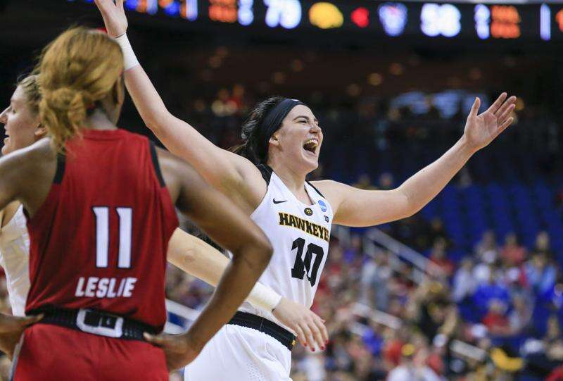 Megan Gustafson returns to Iowa for jersey retirement, but first, No. 19 Hawkeyes host Michigan State