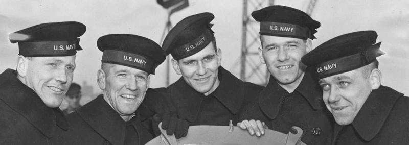 U.S. Navy destroyer honoring Waterloo's Sullivan brothers taking on water