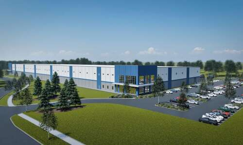Edgewood Logistics Park's first building on track