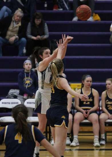 North Cedar basketball photos