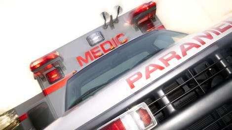 Garrison woman taken to hospital after car veers off road…