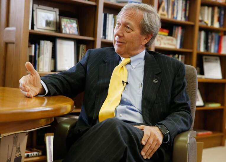 New University of Iowa president says he didn't want the job at first