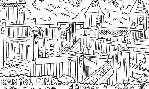 Find the hidden pictures in this playground