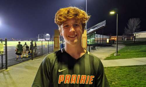 Cedar Rapids Prairie boys' soccer gets early statement win over…