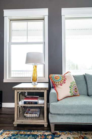 Whether it's calming neutrals or more colorful, people are choosing what makes them feel happy for home decor