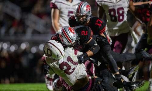 Photos: West Des Moines Dowling vs. Iowa City High football