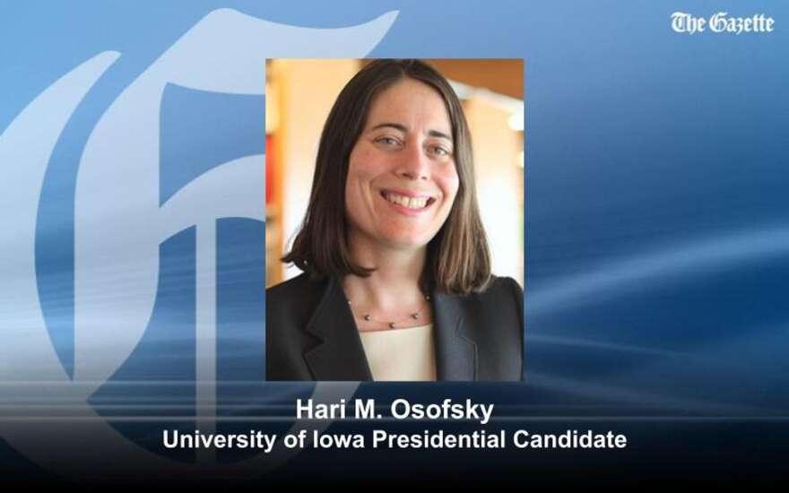 First University of Iowa presidential finalist: Penn State Law dean
