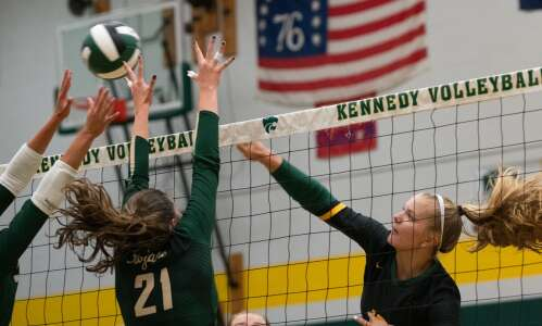 A manic Tuesday: Volleyball showdowns abound throughout the area