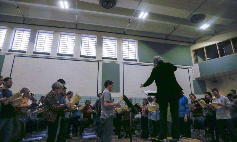 Oakdale Prison choir participates in New York opera project