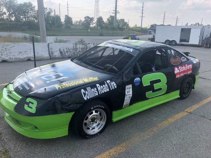No fun? No point. Marion's Chad Vozenilek returns to racing after losing focus