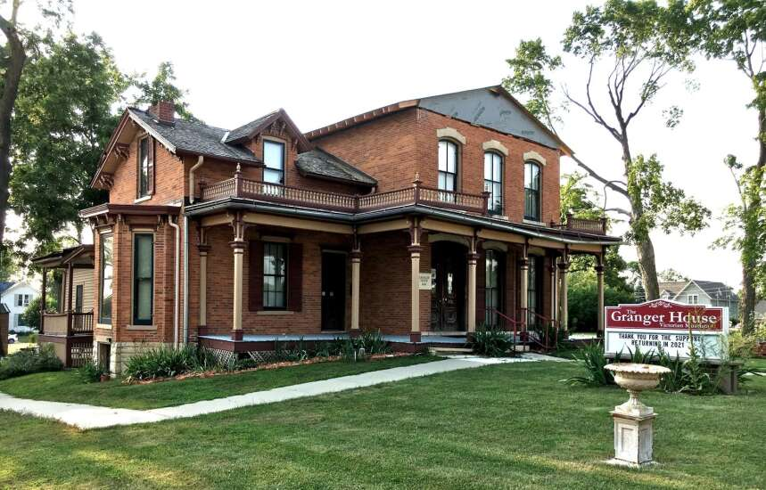 Marion's Granger House reopening after derecho repairs, pandemic