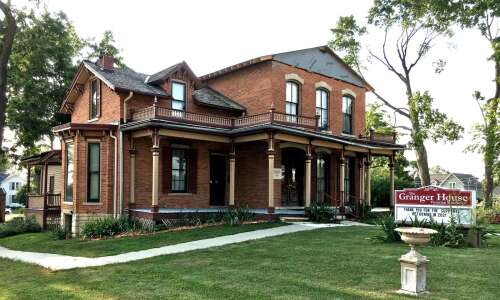 Marion's Granger House reopening for events this month