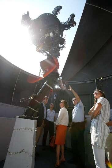 University of Iowa dedicates observatory to James Van Allen