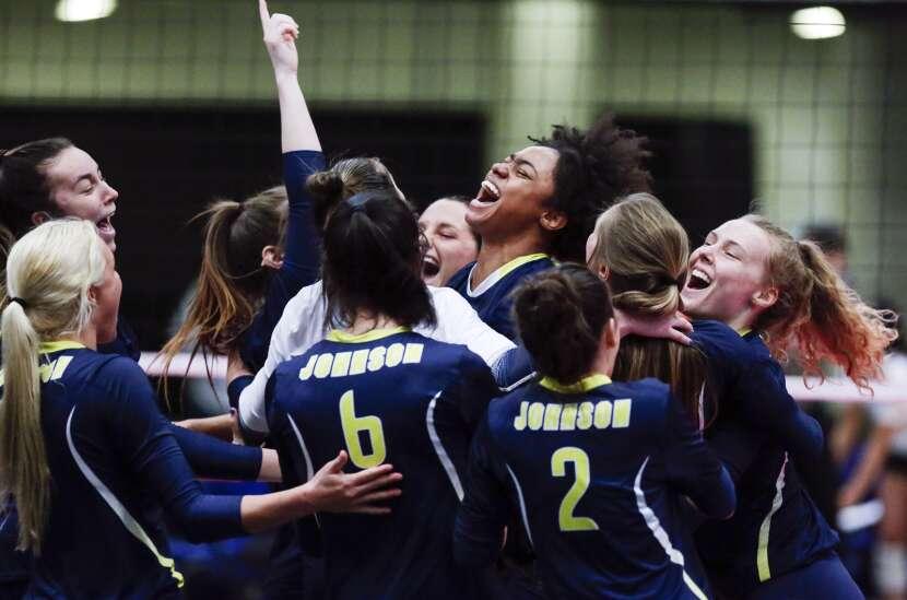 Johnson County captures NJCAA D-II national volleyball title in Cedar Rapids