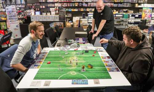 Geek City Games in North Liberty is a screen-free zone