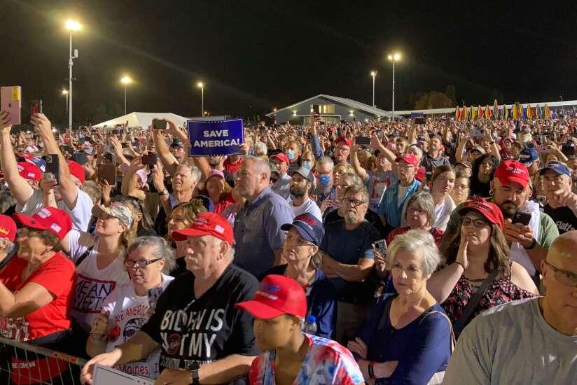 A Saturday in Iowa: The big win and the Big Lie
