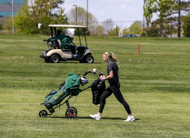Photos: MVC Valley division girls' golf