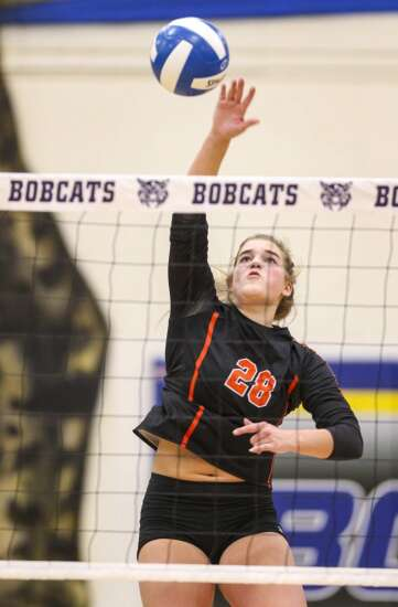 Springville outlasts Lisbon in 1A volleyball showdown