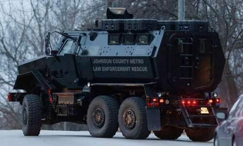 Johnson County MRAP raises question: Who does the sheriff answer…