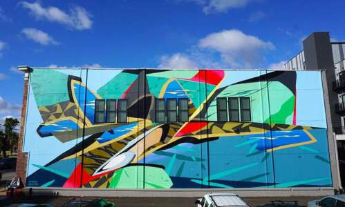 Mural adds dash of color to Kingston Village in southwest…