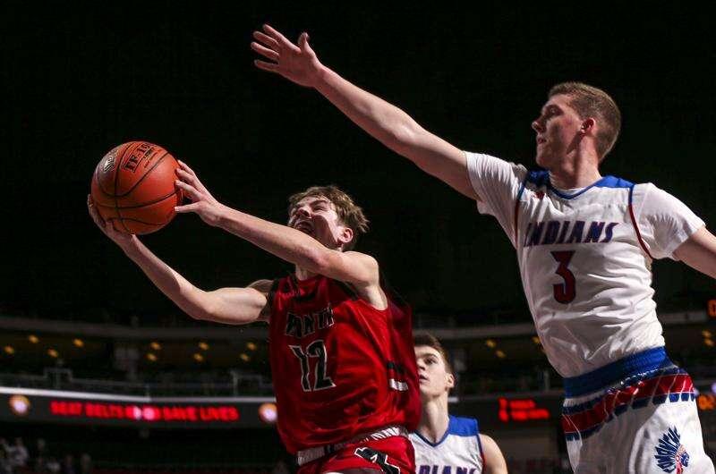 Photos: Monticello vs. Camanche, Iowa Class 2A boys state basketball quarterfinals