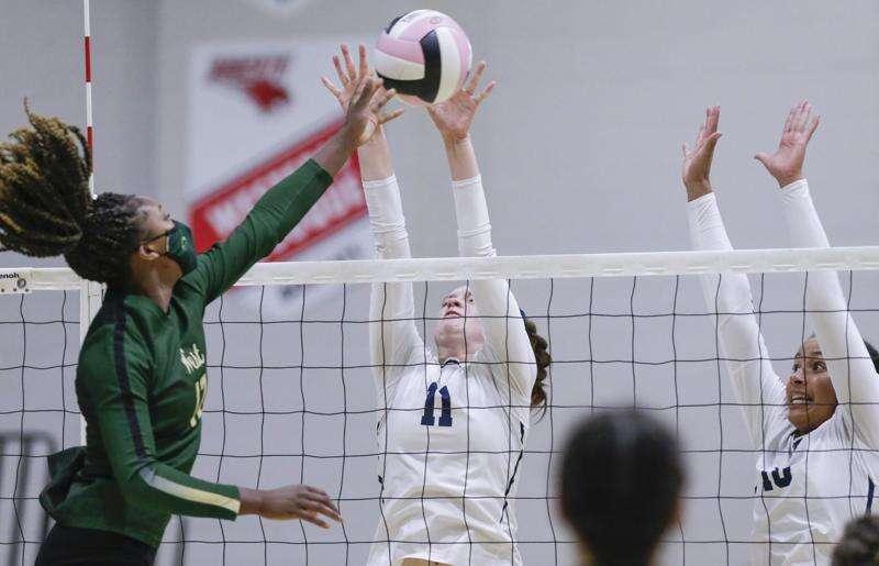 Photos: Prep Volleyball: Iowa City West at Xavier