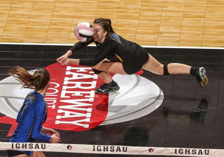 Wilton sweeps West Branch in 2A regional volleyball final
