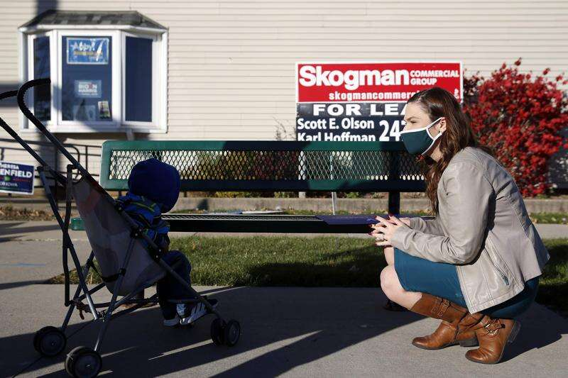 PHOTOS: Candidates make their final push on Election Day