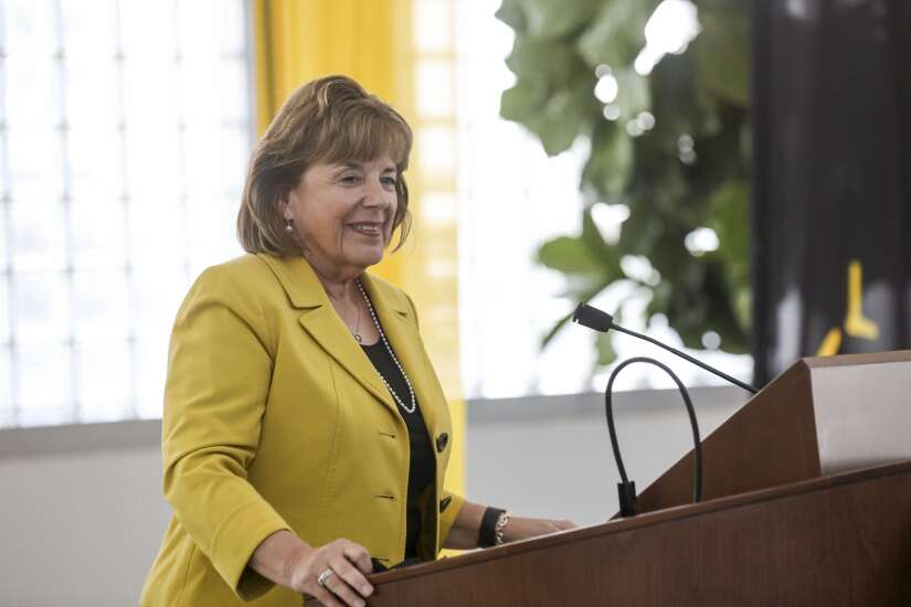 Regents meeting Wednesday with new University of Iowa President Barbara Wilson to set goals