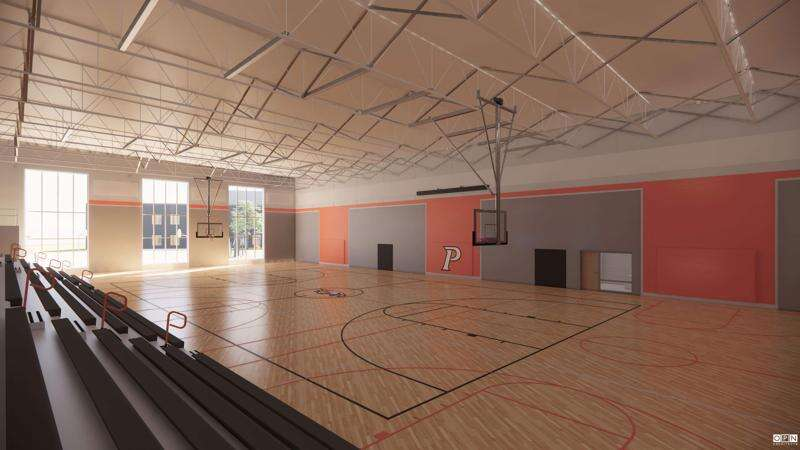 College Community shows off 'crown jewel' of facilities plan