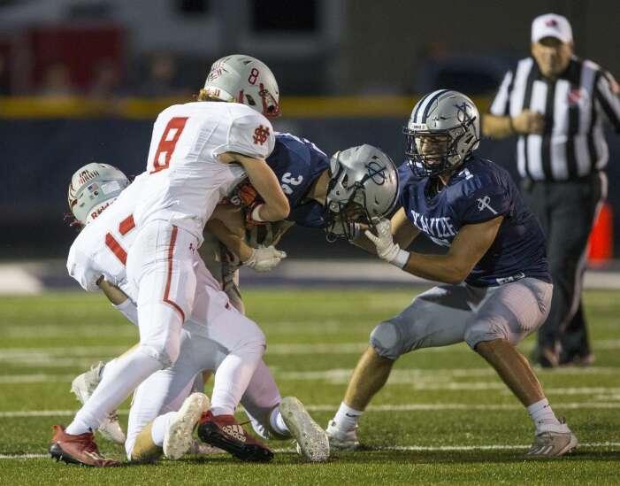 Photos: North Scott vs. Cedar Rapids Xavier, Iowa high school football Week 4