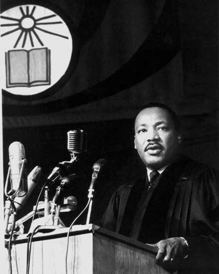 After tumultuous year, Iowa City, UI come together to celebrate Martin Luther King Jr.'s legacy